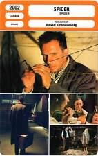 FICHE CINEMA : SPIDER - Fiennes,Richardson,Byrne,Cronenberg 2002