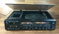 Vintage MITSUBISHI MC-7500 Turntable Tape SW Radio Tuner Player Analogue