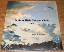 Dothan High School Concert Choir AL - Harvie B. McClure 1974 LP Alabama