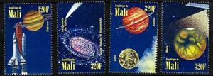 MALI 1996 ASTRONOMY & SPACE MNH ** HALLEY'S COMET, SOLAR SYSTEM PLANETS