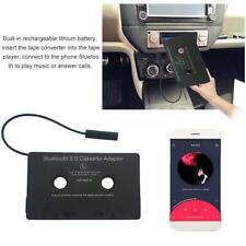 Car Auto Bluetooth Audio Cassette to Aux Adapter Music Player Tape Converter