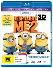 Despicable Me 2 in 3d (Blu-ray, 2013)