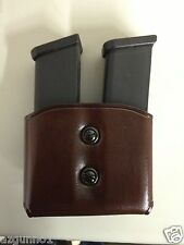 Galco DMC ( Double Magazines Carrier) Havana 9mm, .40, Double Stack #DMC22H