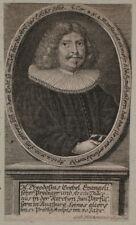 1688 Goebel Theodosius Prediger Augsburg Theologe Kupferstich-Porträt Heckenauer
