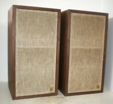 Classic AR-4X Acoustic Research Bookshelf Stereo Speakers ~ Drivers & Cabs Great
