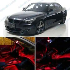 Red Interior LED Package For BMW 5 Series E60 2004-2010 (12 Pieces) #463