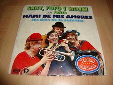 GABY FOFO Y MILIKI CON FOFITO MAMI DE MIS AMORES SINGLE DE VINILO VINYL
