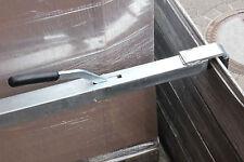 1x Stahl-Spannbrett Zwischenwandverschluss, Stahl Klemmbrett 1,92 - 2,72 m