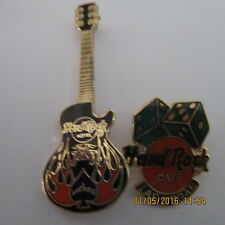 Hard Rock Cafe Pin Las Vegas & Hotel Pins, New with bag