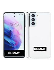 TELEFONO FINTO DUMMY SCHERMO COLORATO REPLICA Samsung Galaxy S21 5G BIANCO