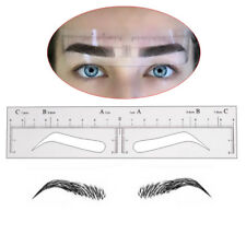 Disposable Eyebrow Stickers Stencil Microblading Supplies Tattoo Makeup Measure
