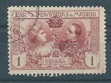 ESPAÑA 1907 EDIFIL SR 5 USADO 1 PTA. PRECIOSO VALOR CATÁLOGO 21,00€