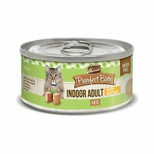 Merrick Purrfect Bistro Grain Free Pate Wet Cat Food Indoor Adult Chicken & T...