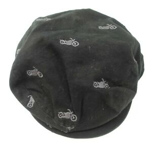 The Children's Place Motorcycle Newboys Kids Cap Hat L 2-4 Years