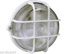 Rundleuchte EEK A++ IP44 weiß Wandleuchte Deckenleuchte Kellerlampe Lampe Licht