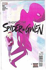 RADIOACTIVE SPIDER-GWEN#2 NM 2016 MARVEL COMICS