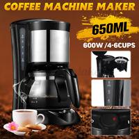 Electric Drip Espresso Coffee Maker Household Tea Machine Pot Cafe Filter Latte