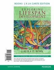 Exploring Lifespan Development, Books a la Carte Edition by Laura E. Berk (2013,
