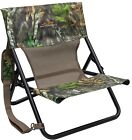 Hunting Blind Chair Foldable Folding Carry Strap Camo Deer Turkey Camping Beach