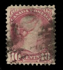 #40 Small Queen 10c Canada used  well centered