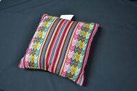 Handmade Brown Sarape Pillow