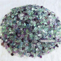 1/2lb Natural Tumbled Coloured Fluorite Crystal Quartz Bulk Stone Reiki Healing