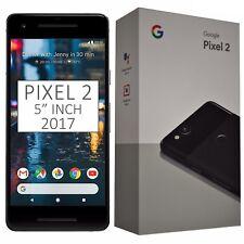 "BNIB 5"" Inch Google Pixel 2 (2017) G011A 64GB Black Factory Unlocked 4G/LTE GSM"