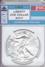 LIBERTY ONE DOLLAR 2019 1 ONCE D'ARGENT U.S.A. SILVER