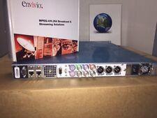 Envivio (Ericsson) 4Caster B3 Real Time Broadcast & IPTV Encoder -New