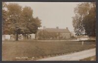 Postcard Kirklington near Thirsk Yorkshire early village view RP by Bayley