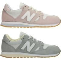 New Balance WL520 rosa oder grau Damen Wildleder Low-Top Sneakers Schuhe NEU