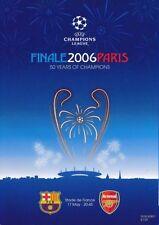 Arsenal Away Team Champions League Final Football Programmes
