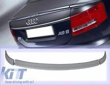 Audi A6 4F 2004+ Heckspoiler HECKFLÜGEL Spoiler Lippe AB-Optik 3 Teile Hecklippe