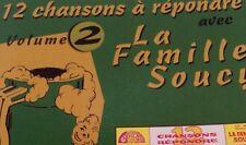 12 CHANSONS A REPONDRE (Vol.2) Tape Cassette LA FAMILLE SOUCY Merite 44-1302