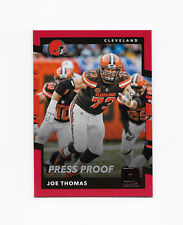 2017 Donruss PRESS PROOF Red #298 Joe Thomas Cleveland Browns