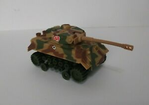 Vintage Schaper Stomper 4x4 Military Tank Camoflauge War Made in Taiwan Untested
