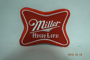 """Miller High Life Embroidered Iron-on Patch 3x2.25"""""""