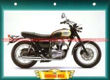 KAWASAKI W 650 W650 1999-2006 Fiche Moto #004389