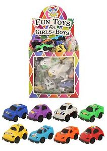 Pack of 12 Mini Racing Pull Back Cars Party Bag Fillers Boys Toy Children's Loot
