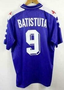 Fußball Trikot Jersey Fiorentina BATISTUTA #9 Vintage Retro Shirt Home Away