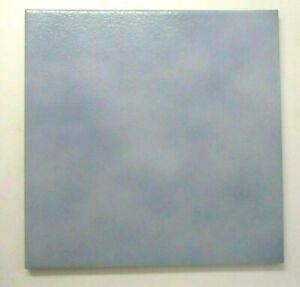 "Kalebodur Turkey 7-7/8"" Sq. Cloudy Sky Blue Satin Porcelain 1 Floor Tile Vintage"