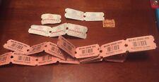 Tokens Tickets 21 MALIBU GRAND PRIX ARCADE, 6 Chuck E Cheese, 1 Gold Rush 10C