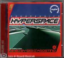 GIGI D'AGOSTINO HYPERSPACE VOLUME #01 By Gigi D'agostino Progressive COME NUOVO!