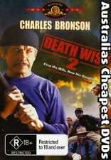 Death Wish 2  DVD NEW, FREE POSTAGE FROM AUSTRALIA REGION 4
