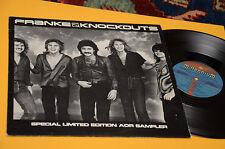 FRANKE & LOS DISCOS REMOVIBLES LP ESPECIAL LIMITED EDITION PROMO USOS 1981 EX