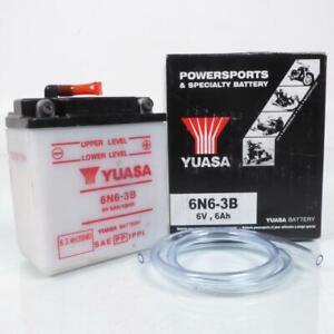 Batteria Yuasa per Moto Honda 250 XL K3 K4 1976 Per 1977 6N6-3B/6V 6Ah Nuovo