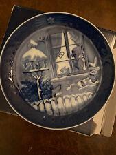 royal copenhagen Christmas Plate 2001 With Box