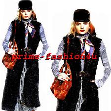 Dolce & Gabbana Black Lamb Fur Reversible Vest Coat 11K.