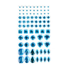 1 Sheet Decal Scrapbooking Self Adhesive Rhinestone Bling Stickers Crystal NT