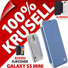 New Krusell Boden Flip Case for Samsung Galaxy S5 Mini Cover Flip Folio Blue